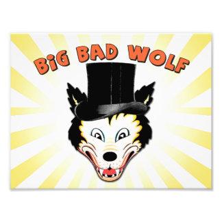 Grande mauvaise copie de caractère de loup photographe