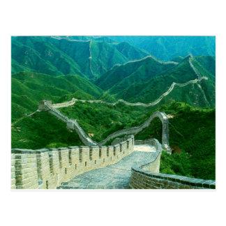 Grande Muraille d'Everywhereness de la Chine Carte Postale