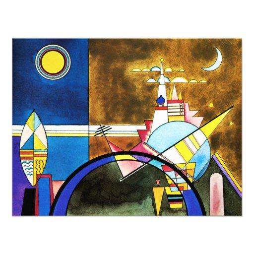 Grande porte de Kandinsky des invitations de Kiev