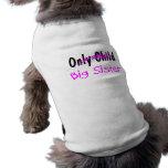 Grande soeur manteaux pour chien