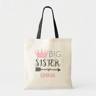 Grande soeur personnalisée tote bag