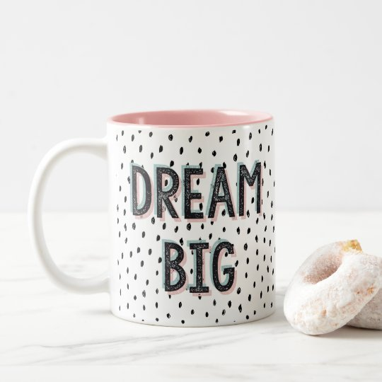 Grande tasse de citation inspirée rêveuse
