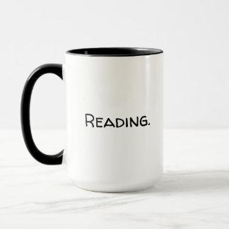 Grande tasse de lecture