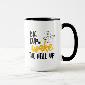 Grande tasse de sillage l'enfer !