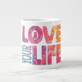 Grande Tasse L'amour vivent votre nouvel original d'âge de la
