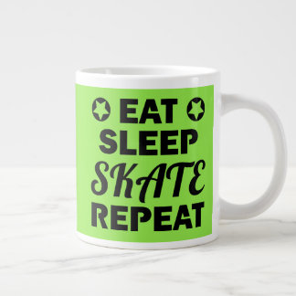 Grande Tasse Mangez la répétition de patin de sommeil, rouleau
