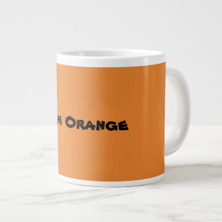 Grande Tasse Orange d'équipe