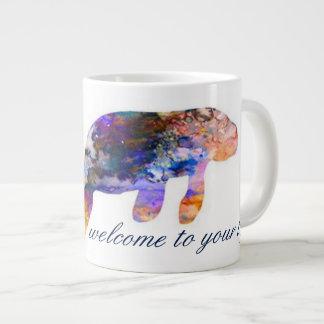 Grande Tasse Quelque chose nouveau lamantin de Mug_Watercolor