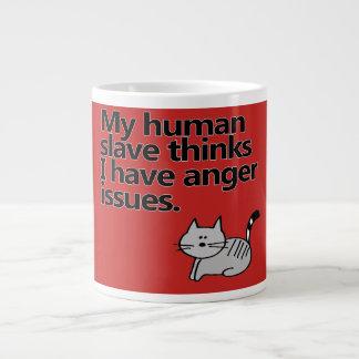Grande Tasse Questions de colère de chat