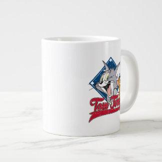 Grande Tasse Tom et Jerry | Tom et Jerry sur le diamant de