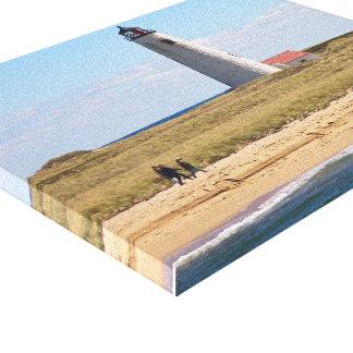 Grande toile enveloppée par mA de Nantucket de