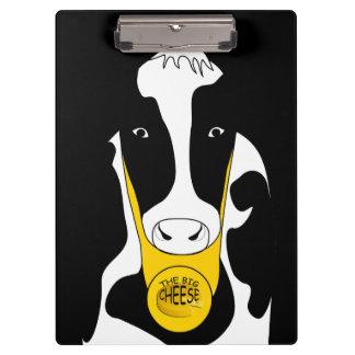 Grande vache drôle à patron de fromage