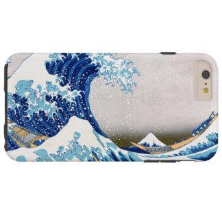 grande vague de 北斎 outre des beaux-arts de coque iPhone 6 plus tough
