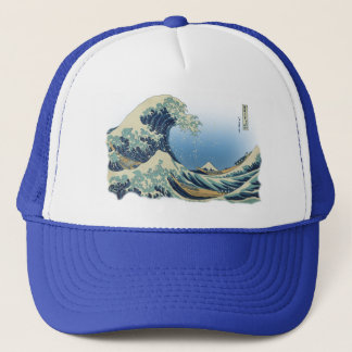 Grande vague outre de Kanagawa Casquette