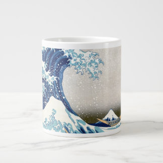 Grande vague outre des beaux-arts de Kanagawa Mug