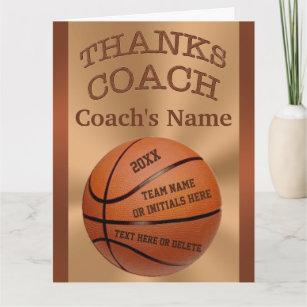 Eyrme Tasse de basketball Coach Id/ée cadeau pour entra/îneur de basketball