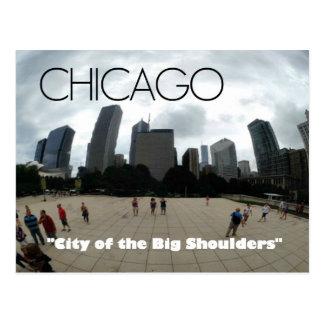 """Grandes épaules"" Chicago--carte postale Cartes Postales"