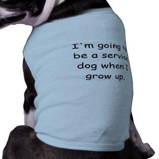 Grandissez la chemise d'animal familier de chien d t-shirt pour chien
