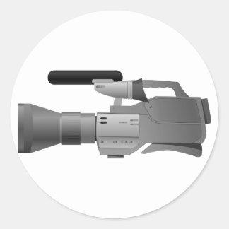 Grands autocollants de caméra vidéo