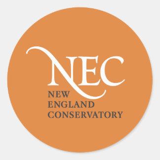 Grands autocollants de NEC