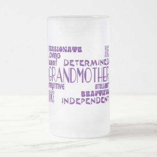 Grands-mères élégantes chics féminines modernes de mug à café