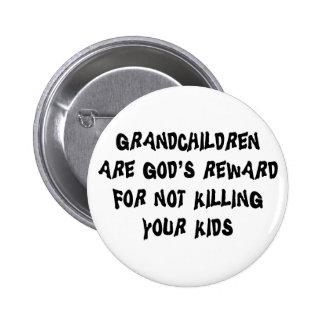 Grands-parents drôles pin's