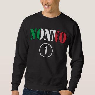 Grands-pères italiens : L'ONU de Nonno Numero Sweatshirt