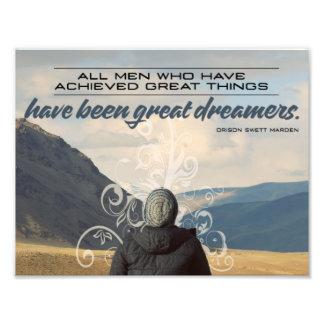 Grands rêveurs impression photo