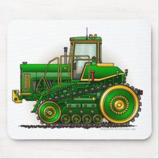 Grands tapis de souris verts de tracteur de bouteu