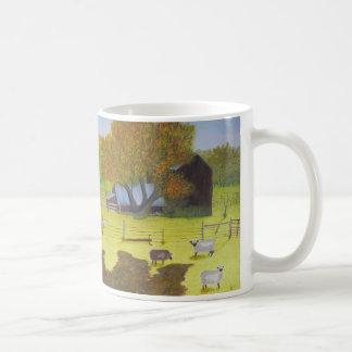 Grange et moutons de Waterford Mug