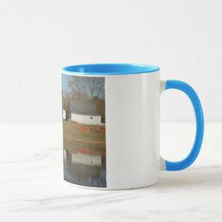 Grange grise - réflexions de sérénité mugs