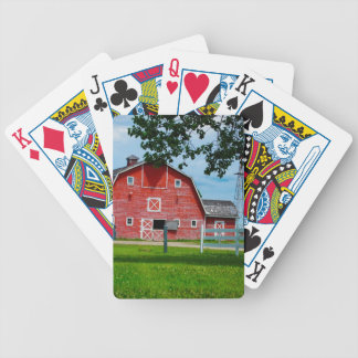 Grange rouge jeu de cartes