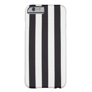 """Graphic lines """"Black and White"""" Coque Barely There iPhone 6"""