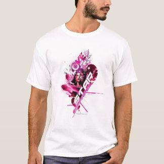 Graphique 8 de saphir d'étoile t-shirt