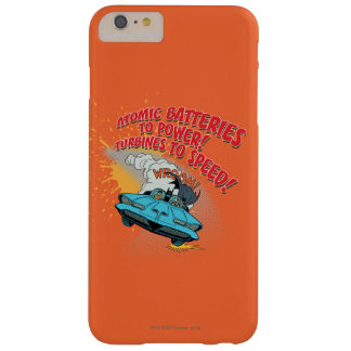 Graphique de Batmobile Coque Barely There iPhone 6 Plus