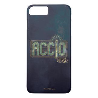 Graphique de charme d'Accio d'art déco de jade Coque iPhone 7 Plus
