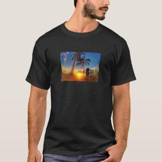 Graphique de coucher du soleil t-shirt
