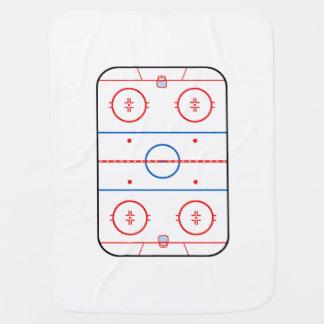 Graphique de match de hockey de diagramme de couvertures de bébé