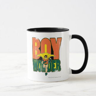 Graphique de merveille de garçon mug