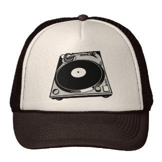 Graphique de plaque tournante casquettes