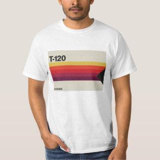Graphique de rétro musique et de bande vidéo en t-shirt