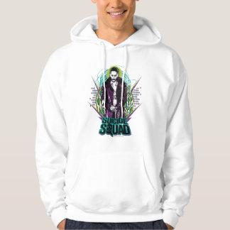 Graphique de roche de joker du peloton | de veste à capuche