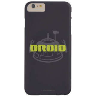 Graphique de Star Wars Droid Coque iPhone 6 Plus Barely There