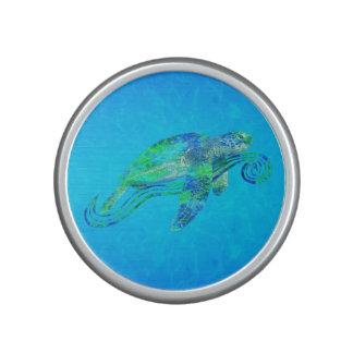Graphique de tortue de mer haut-parleur