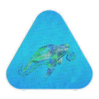 Graphique de tortue de mer haut-parleur bluetooth