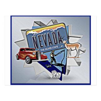 Graphique du Nevada Carte Postale