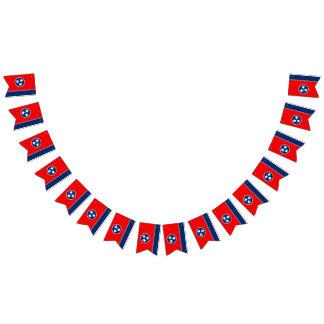 Graphique dynamique de drapeau d'état du Tennessee