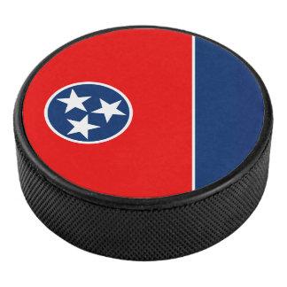 Graphique dynamique de drapeau d'état du Tennessee Palet De Hockey