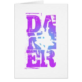 Graphique final de danseur cartes