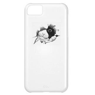 Graphique mignon de chat de kawaii sournois curieu coque iPhone 5C